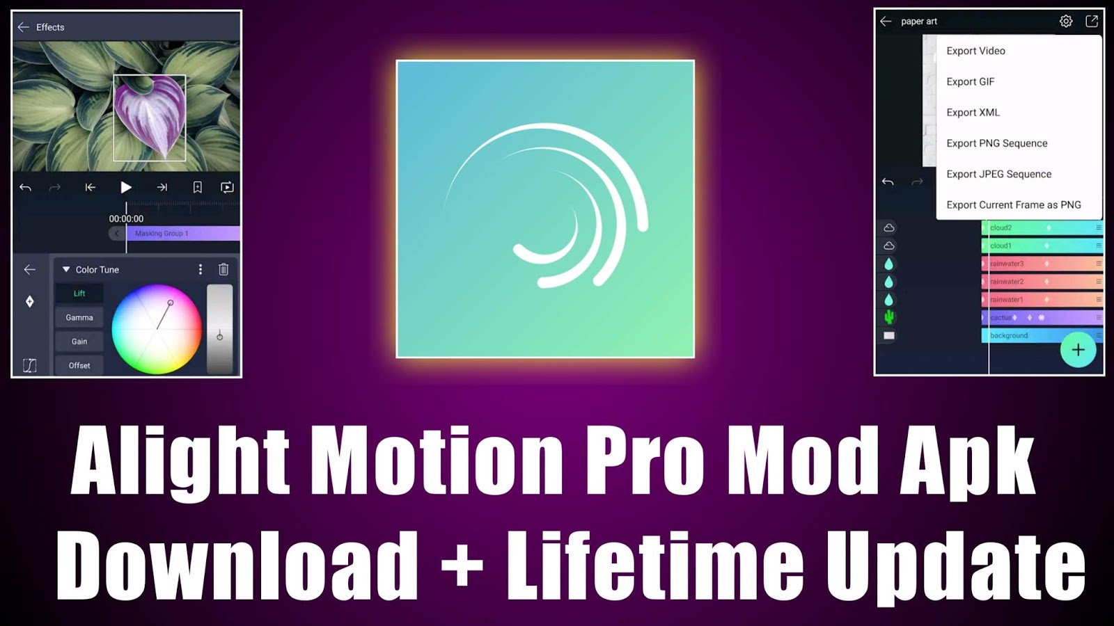 Download alight motion pro apk 3.1.4 Apk4all Semua Versi